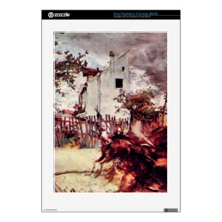 Giovanni Boldini - Outskirts of Paris PS3 Console Decals