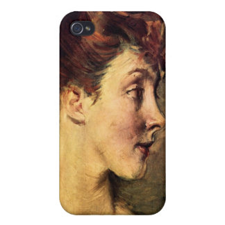 Giovanni Boldini - Portrait of Countess de Leusse iPhone 4 Cover