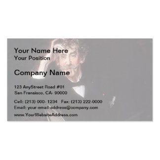 Giovanni Boldini- Portrait of James Abbott Business Card Templates