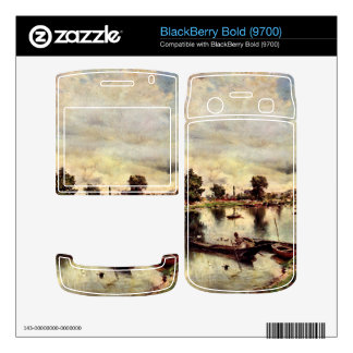 Giovanni Boldini - River landscape BlackBerry Bold 9700 Skin