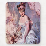 Giovanni Boldini - The actress Alice Regnault Mouse Pad