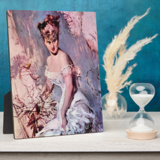 Giovanni Boldini - The actress Alice Regnault Photo Plaques