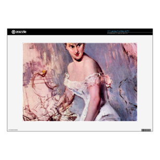 "Giovanni Boldini - The actress Alice Regnault Skins For 15"" Laptops"