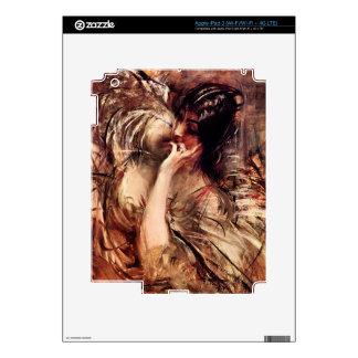 Giovanni Boldini - The blouse of Voile iPad 3 Skin