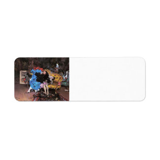 Giovanni Boldini- The Model and the Mannequin Return Address Labels