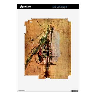 Giovanni Boldini - The Seine at Bougival Decals For iPad 2