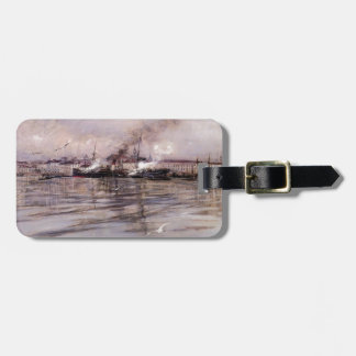Giovanni Boldini- View of Venice Travel Bag Tags