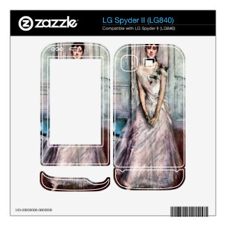 Giovanni Boldini - White pastel picture Decal For LG Spyder II