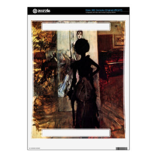 Giovanni Boldini - Woman in front of the painting Skin For The Xbox 360