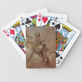 Giovanni Domenico Tiepolo: Apollo and Diana Poker Deck
