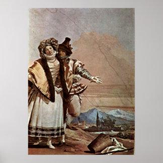 Giovanni Domenico Tiepolo - Declaration of Love Poster