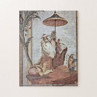 Giovanni Domenico Tiepolo - Mandarin treepuzzle Puzzle