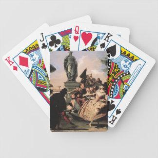 Giovanni Domenico Tiepolo- Minuet Card Deck