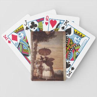 Giovanni Domenico Tiepolo: Summer Stroll Poker Cards