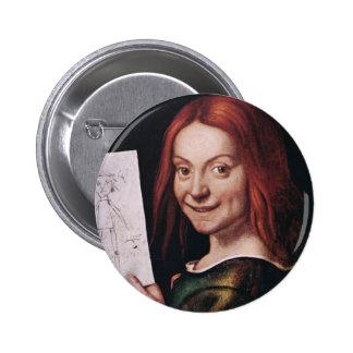 Giovanni Francesco Caroto - Boy with a Drawing Button