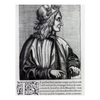 Giovanni Pico della Mirandola, from Postcard