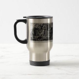 Giovanni Piranesi- Aqua Alsietina Coffee Mugs