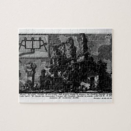 Giovanni Piranesi- Aqua Julia Jigsaw Puzzle