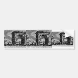 Giovanni Piranesi-Arch of Gallienus Bumper Stickers