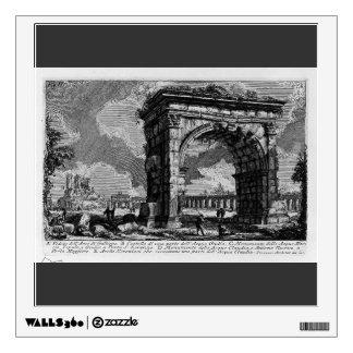 Giovanni Piranesi-Arch of Gallienus Wall Decal