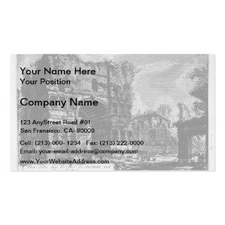 Giovanni Piranesi-Arch of Janus Business Cards