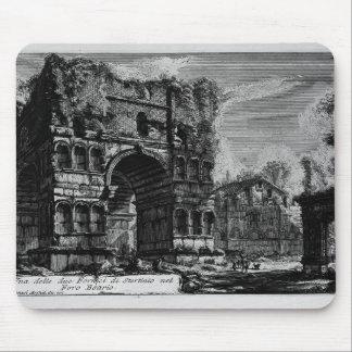 Giovanni Piranesi-Arch of Janus Mouse Pad