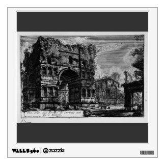 Giovanni Piranesi-Arch of Janus Wall Stickers
