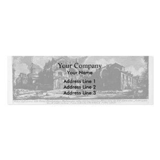 Giovanni Piranesi-Baths of Diocletian Business Cards