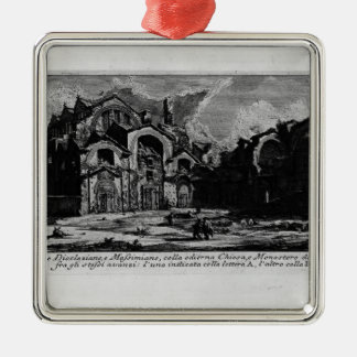 Giovanni Piranesi-Baths of Diocletian Ornaments