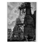 Giovanni Piranesi- Burial rooms of Augustus family Postcard