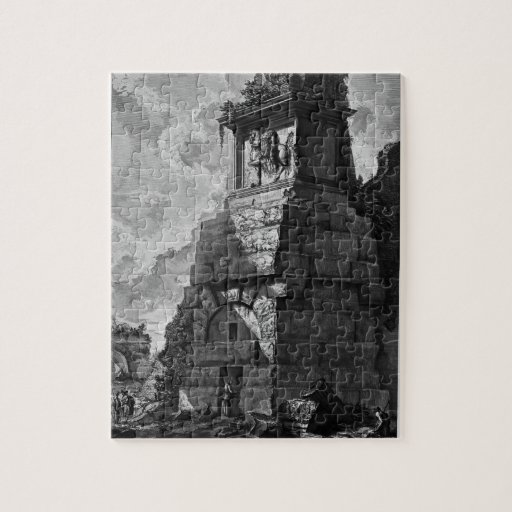 Giovanni Piranesi- Burial rooms of Augustus family Jigsaw Puzzle