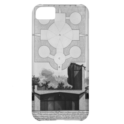 Giovanni Piranesi-Cross-section of large urn Case For iPhone 5C