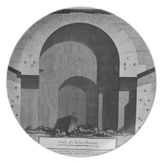 Giovanni Piranesi- Elevation of a tomb Plates