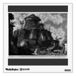 Giovanni Piranesi-Elevation of the Tomb of Scipios Room Stickers