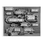 Giovanni Piranesi-Inscriptions of burial chamber Post Cards