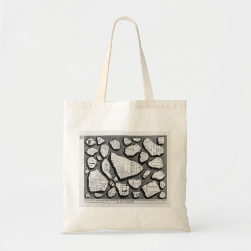 Giovanni Piranesi- Map of ancient Rome&Forma Urbis Bags