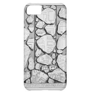 Giovanni Piranesi-Map of ancient Rome&Forma Urbis iPhone 5C Cover