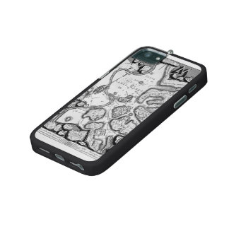 Giovanni Piranesi-Map of ancient Rome&Forma Urbis Case For iPhone 5