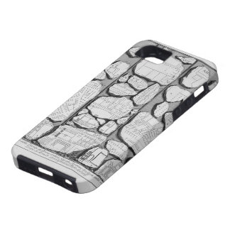 Giovanni Piranesi-Map of ancient Rome&Forma Urbis iPhone 5 Case
