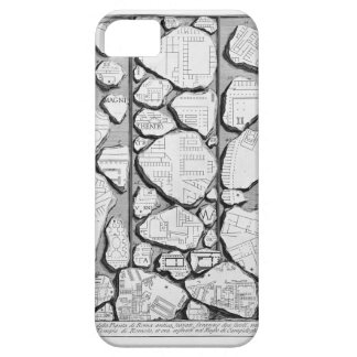 Giovanni Piranesi-Map of ancient Rome&Forma Urbis iPhone 5 Cover