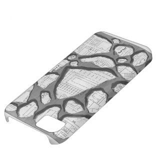 Giovanni Piranesi- Map of ancient Rome&Forma Urbis iPhone 5C Covers
