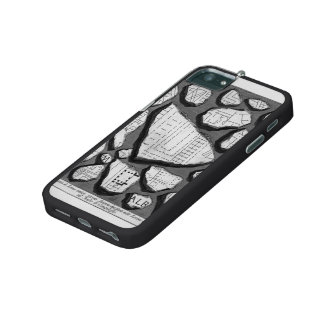 Giovanni Piranesi- Map of ancient Rome&Forma Urbis iPhone 5/5S Case