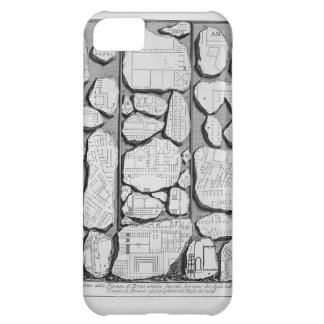 Giovanni Piranesi-Map of ancient Rome&Forma Urbis Case For iPhone 5C