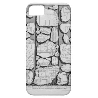 Giovanni Piranesi-Map of ancient Rome&Forma Urbis iPhone 5 Covers