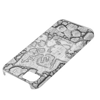 Giovanni Piranesi-Map of ancient Rome&Forma Urbis Cover For iPhone 5C