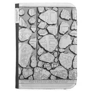 Giovanni Piranesi-Map of ancient Rome&Forma Urbis Case For The Kindle