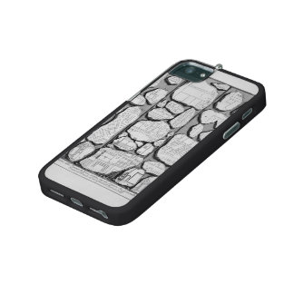 Giovanni Piranesi-Map of ancient Rome&Forma Urbis Cover For iPhone 5/5S