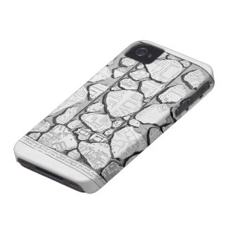 Giovanni Piranesi-Map of ancient Rome&Forma Urbis iPhone 4 Case-Mate Case