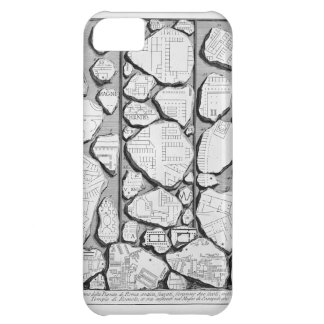 Giovanni Piranesi-Map of ancient Rome&Forma Urbis iPhone 5C Cases