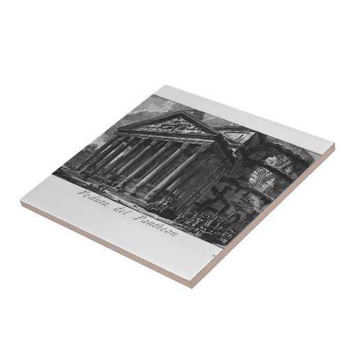Giovanni Piranesi- Pantheon Ceramic Tile